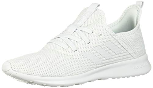 adidas Women's Cloudfoam Pure Sneaker, Blue Tint/White, 6.5 M - Size Shoe Youth