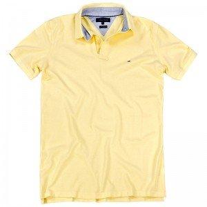 Tommy Hilfiger Poloshirt Polo Herren Polohemd Shirt Tee Gelb, Farbe Gelb  Größe  e07d2a2fd2