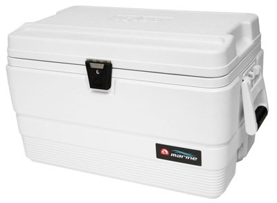 Igloo 44683 Marine Ultra 54 Cooler, 78-Can, White