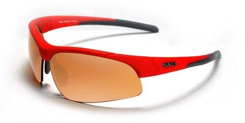 Maxx Sunglasses Stingray Red Frame Copper - Sunglasses Hd Maxx