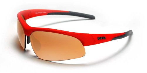 Maxx Sunglasses Stingray Red Frame Copper - Stingray Sunglasses