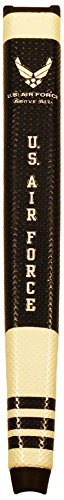 Team Golf Military Air Force Golf Putter Grip with Removable Gel Top Ball Marker, Durable Wide Grip & Easy to -