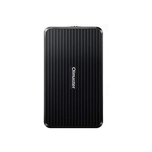 Oimaster Tool Free Hard Drive Enclosure USB 3.0 Interface for 2.5 inch HDD SSD UASP Supported