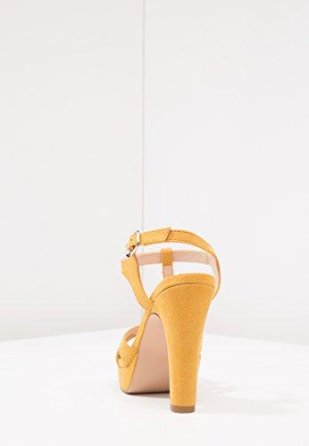 Plateau Tacchi Scarpe Donna con Sera in Anna di Alti da Similpelle Elegante da Alla Sandalo Cinturino Caviglia Qualit con Field Alta Tacco e Alto zwfqY5
