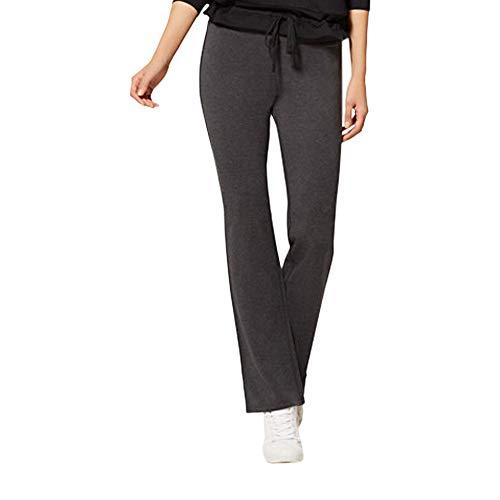 (New York & Co. Petite Grey Bootcut Yoga XSmall Graphite Heather Grey)