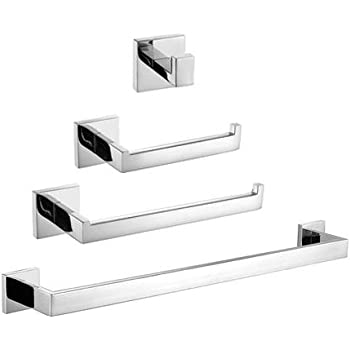 Amazon Com Kes Stainless Steel Bathroom Accessories Set