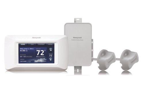 Honeywell YTHX9421R5051 Prestige IAQ 2.0 Thermostat Kit (Honeywell Prestige Kit)
