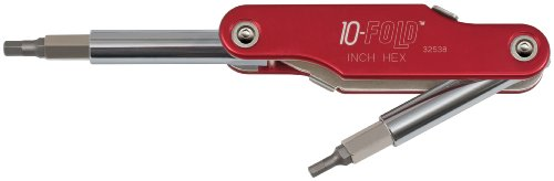 10-Fold Fractional Hex Screwdriver and Nut Driver Klein Tools 32538