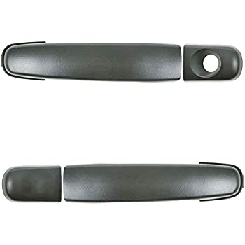 for Chevy Pontiac Outside Exterior Door Handle Front Left Right Set Textured