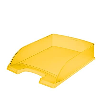 Briefkorb Plus WOW orange metallic Polystyrol Leitz; #Ablagekorb# 5226... A4