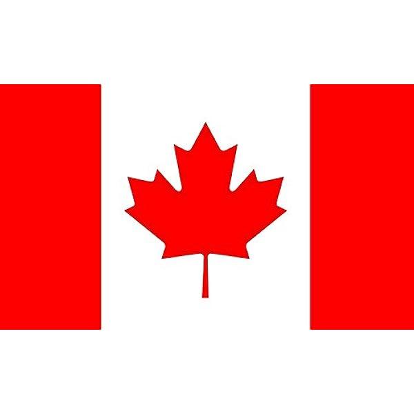 Bandera Canadá - 90 x 150cm: Amazon.es: Hogar