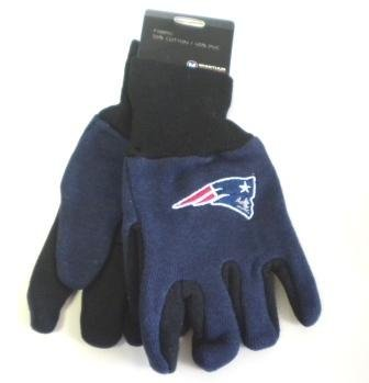 NFL New England Patriots Kids Two Tone Gloves by WinCraft ()