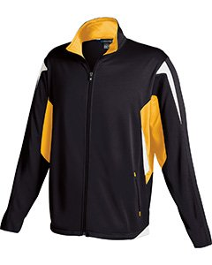 Holloway Youth Dedication Jacket , Black|Gold, small  by Holloway