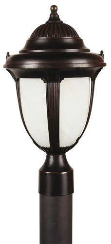 Casa Sorrento 20 3/4″ High Bronze Post Mount