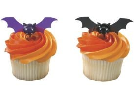 Halloween Bats- set of 12 Bat Pics