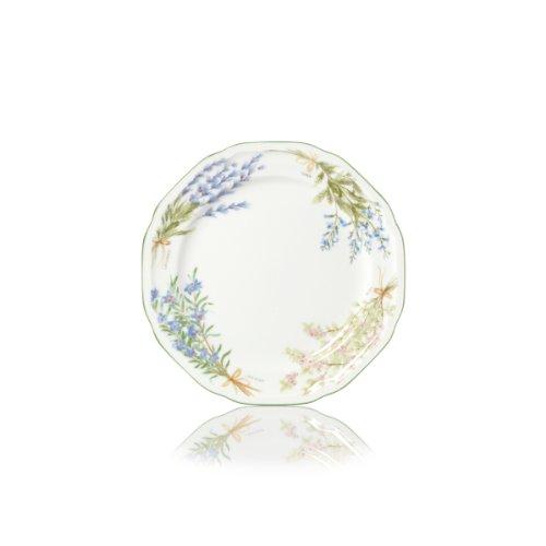 Mikasa Botanical Bouquet Salad Plate, 8.5-Inch