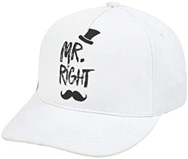 XunYun Mr Right - Gorras Transpirables con patrón de Color Negro ...