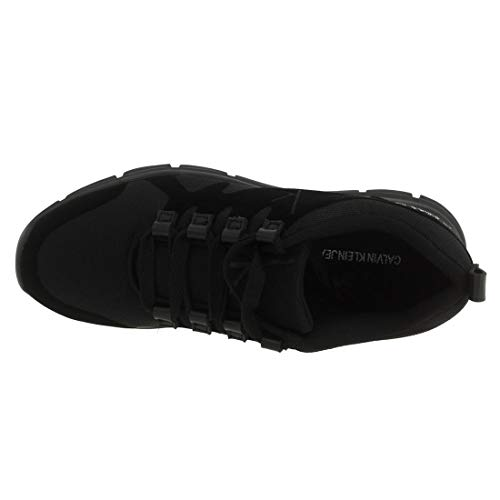 000 Jeans Murphy Klein Flocking Homme Fine Noir Calvin Black Basses Sneakers Mesh PT67qwn