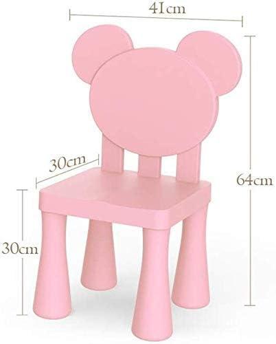 Lsmaa Sillas Conjunto de Mesa, mobiliario Infantil Dormitorio Sala de Juegos Multi-Color (Color: 1 Tabla 1 y Chair B) (Color : 1 Table and 1 Chair B) 1 Table And 2 Chairs D Xs4GXh