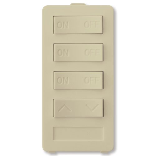 Four Button Dimming Keypad for use with XPT Base Transmitter