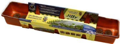 033349050429 - Jiffy 36mm Windowsill Greenhouse 24-Plant Starter Kit carousel main 0