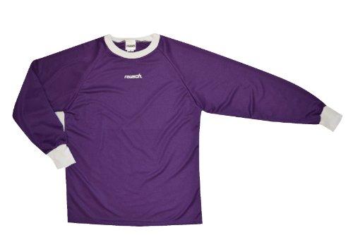 Reusch Soccer Solid Long Sleeve Goalkeeper Jersey, Purple, Large (Jersey Sleeve Reusch Long)