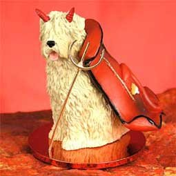 (Conversation Concepts Soft Coated Wheaten Terrier Devilish Pet Figurine)