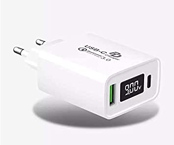 PremiumTech - Cargador USB Rápido con PD Power Delivery + ...