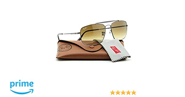 241c97bcf9 Amazon.com  Ray-Ban RB3560 004 51 COLONEL Men Gradient Aviator Sunglasses  61mm  Clothing