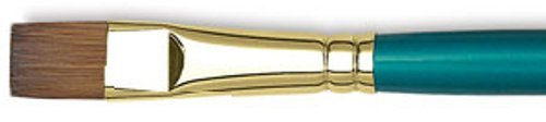 DALER-ROWNEY/FILA CO RS265055050 EXPRESSION SHORT HANDLE FLAT WASH AND GLAZE 1/2 INCH