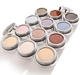 Compressed Eye Shadows in Chocolate