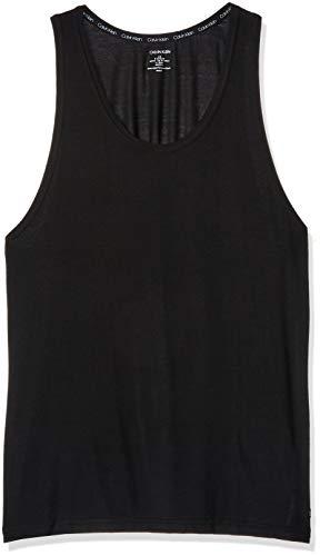 Calvin Klein Men's Ultra Soft Modal Tank, Black, M