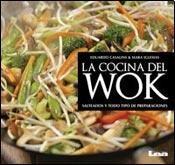 La cocina del wok: Salteado y todo tipo de preparaciones (Spanish Edition) by Cellet (Image #1)