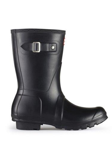 Hunter Original Short Rain Boots BLACK 9