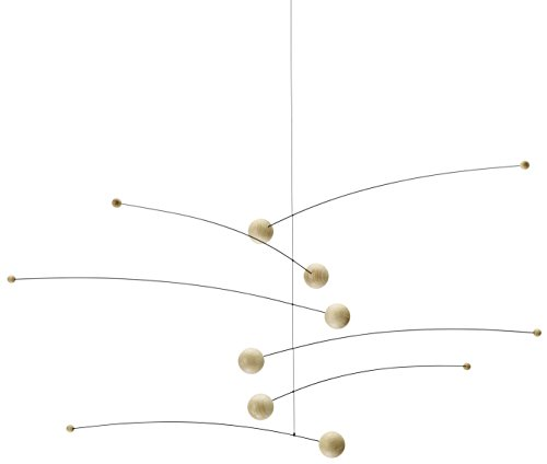 Futura Nature/Nature Hanging Mobile - 30 Inches Beech Wood - Handmade in Denmark by Flensted