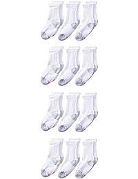 Boys' Big 12-Pack Crew Socks