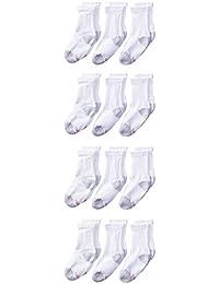 Hanes Ultimate Boys' Big 12-Pack Crew Socks