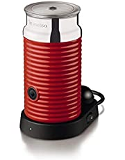 Nespresso 3594-Us-Re Aeroccino and Milk Frother, Red