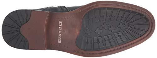 Pictures of Steve Madden Men's Trentin Ankle Boot TREN01M1 Black Leather 7