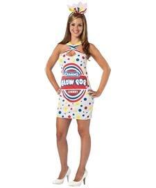 Rasta Imposta Charms Blow Pop Teardrop Dress, Multi, Adult 4-10 (Blow Pop Adult Costume)