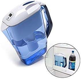 Jarra grande con filtro de agua Aqualis, 3 l, para frigorífico ...
