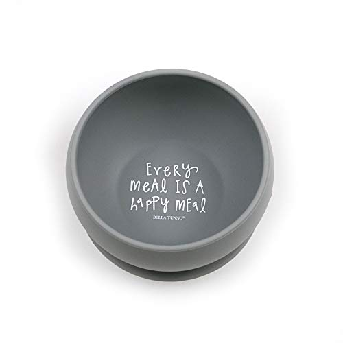 Bella Bowl Bowl Dog (Bella Tunno Every Meal is a Happy Meal Wonder Bowl, Grey)