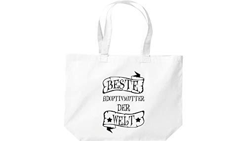 Bolsa Shirtinstyle Welt Blanco De Der Mejor Grandes Adoptivmutter Compra 55rf6wx