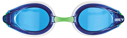 ARENA ADULTE PISTE Lunettes de natation White/Blue/Green