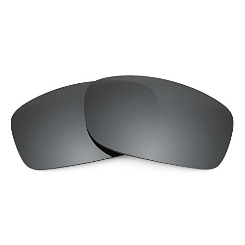 Revant Replacement Lenses for Oakley Fives Squared Black Chrome MirrorShield