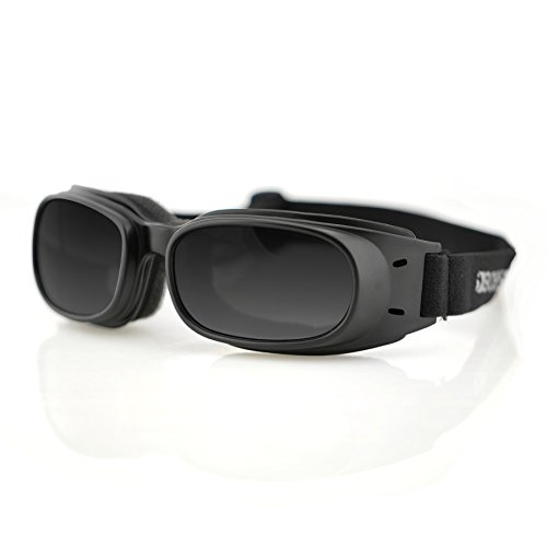 Goggle Black Frame Smoked Lens (Bobster Piston Goggles,Black Frame/Smoked Lens,one)