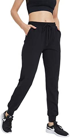 HUAKANG Women's Yoga Sweatpants with Pockets Athletic Lounge Pants for Jogging Workout Gym 4