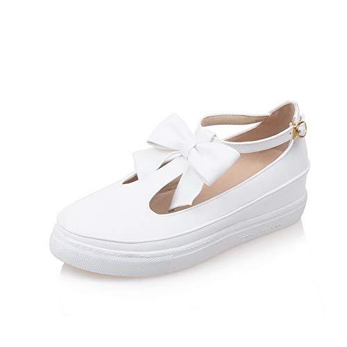 Blanc Compensées Sandales BalaMasa Femme APL10562 pYOBq4wI