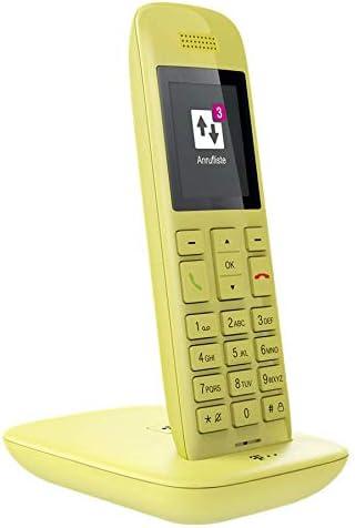 Telekom Speedphone 11 Mit Dect Basis Und Anrufbeantworter Wahlweise Nutzbar Am Ip Anschluss Oder Am Analogen A B Port Gelb Bürobedarf Schreibwaren