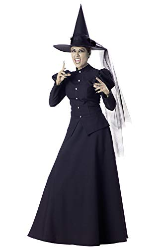 InCharacter Wretched Witch Adult Costume-X-Large Black -